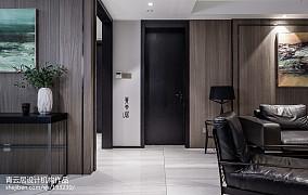 热门面积128平复式客厅现代设计效果图