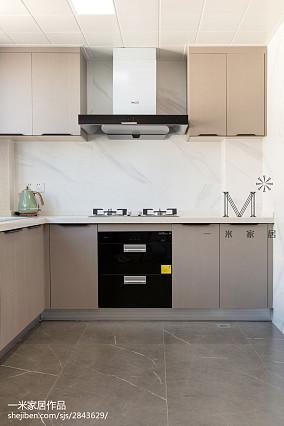 二居厨房现代装饰图片
