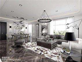 热门128平米复式客厅实景图片欣赏