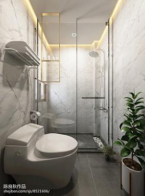 热门中式复式卫生间效果图片大全
