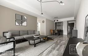 棕色现代客厅设计图片