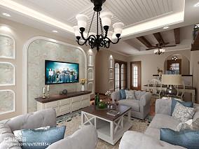 美式家居四居室装修图片-生活家装饰