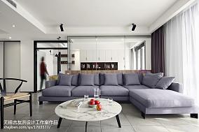 极简现代客厅沙发设计图