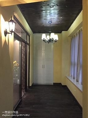 热门四居阳台现代装修设计效果图片欣赏