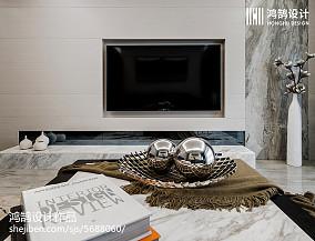 热门大小72平现代二居客厅装饰图