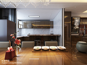 2018精选中式四居厨房装修实景图片欣赏