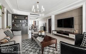 精美三居客厅美式装修欣赏图片大全