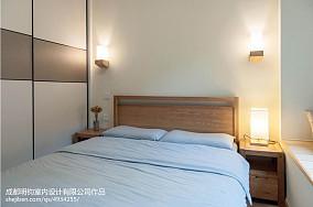 2018精选面积97平日式三居卧室装修效果图片大全