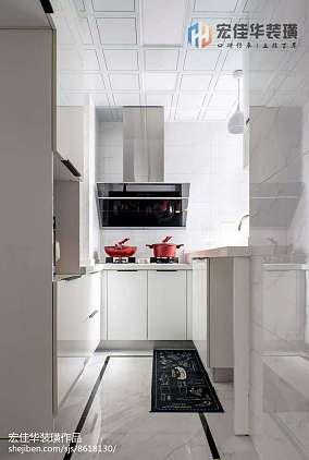 2018精选面积116平复式厨房北欧实景图片大全