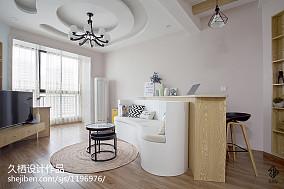 温馨37平北欧小户型客厅装修案例