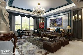 纯欧式客厅效果图