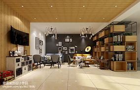 欧式简约别墅装修客厅图片
