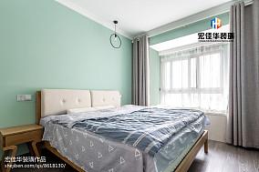 热门面积75平现代二居卧室装修图片大全