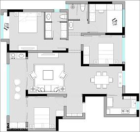 30平小户型室内图片