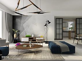 现代黑白色风格小卧室装修