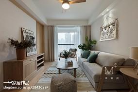 浪漫130平日式四居客厅实拍图
