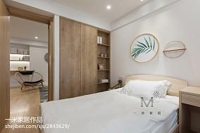 优美91平日式四居卧室设计效果图