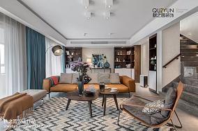热门复式客厅北欧装饰图片欣赏
