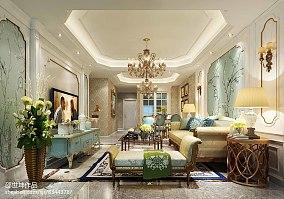 精选100平米三居客厅欧式装修图片大全