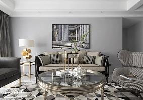 精美138平美式四居客厅设计案例