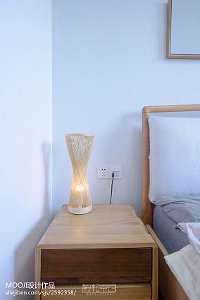 热门76平米二居卧室日式装修实景图片欣赏