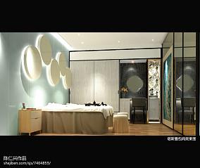 现代地中海风格浴室效果图