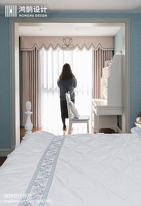 精美面积95平美式三居卧室装修效果图