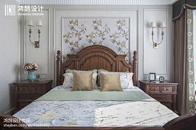 201890平米三居卧室美式装修效果图片大全