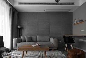 精美面积73平北欧二居客厅装修效果图片