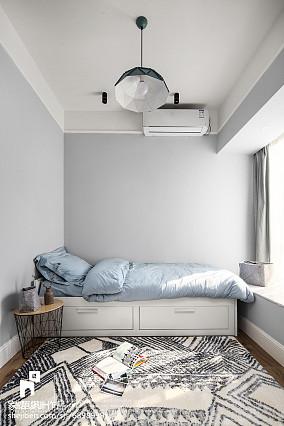 北欧三居卧室装修欣赏图