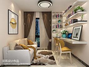 现代二居书房效果图片欣赏