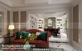 美观美式别墅样板间装修
