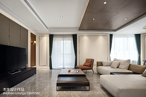 现代客厅组合柜图片