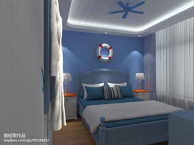 小两居客厅窗帘效果图