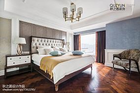 170㎡现代美式次卧设计