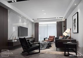 2018精选大小113平现代四居客厅设计效果图