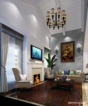 热门别墅客厅中式装修欣赏图
