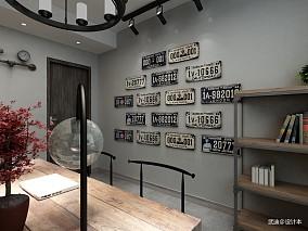 2018现代二居书房装饰图
