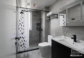 热门三居卫生间装修效果图片