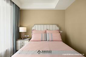 201985平美式三居卧室效果图