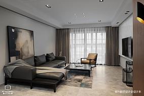 温馨180平现代三居客厅装饰美图