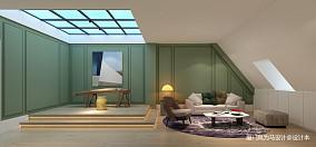 热门面积138平别墅休闲区北欧装饰图片欣赏