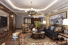 热门二居客厅欧式装修图片欣赏