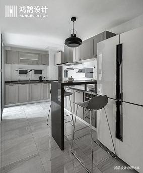 轻奢112平现代三居设计图