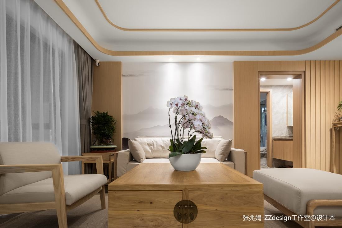 中式客厅样板房