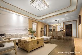 25万160㎡中式现代家装装修效果图
