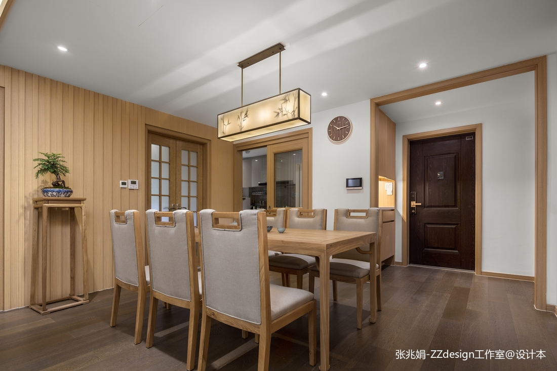 中式餐厅装饰图