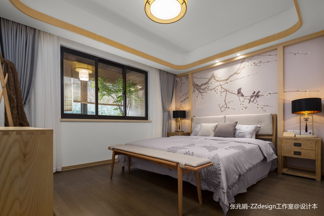 中式卧室家具