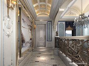 精美新古典别墅过道欣赏图片