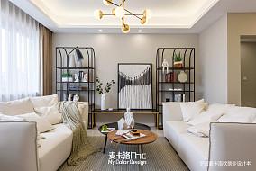 2018精选127平米北欧复式客厅装修实景图片大全